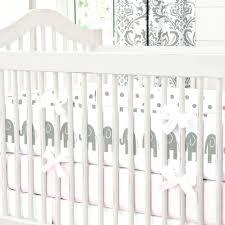 decoration circus crib bedding 5 elephant baby girl themed nursery