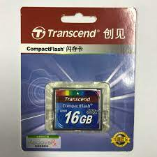 100% Chính Hãng Transcend 400X Thẻ Nhớ Dung Lượng Thực 32GB 16GB Chuyên  Nghiệp Thẻ CF Compact Flash Cho MÁY Ảnh DSLR HD 3D Video|Memory Cards