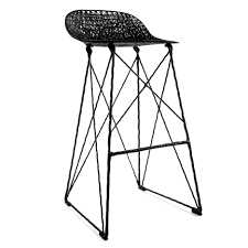 Video Pot and Wanders Carbon chair bar stool for Moooi