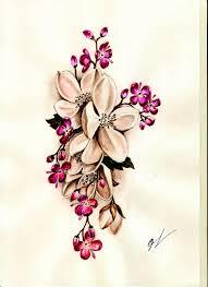 сделать татуировку цветы на предплечье 8x20 см в городе новосибирск