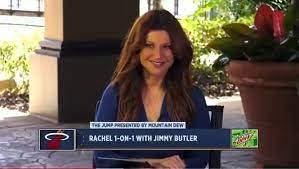 Way Rachel Nichols Looks At Jimmy Butler