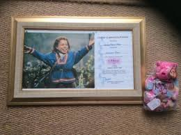 Submitted 7 years ago by warwickadavis. Warwick Davis Signed Photo And Signed Ty Bear 532612170