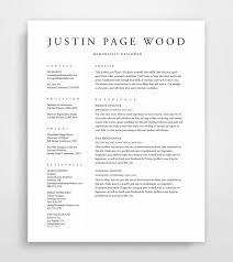 Crafty Simple Resume Layout 16 25 Best Ideas About Simple Resume Template  On Pinterest ...