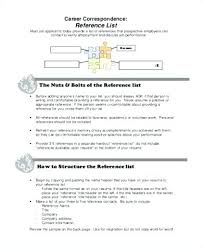 How To Write A Resume Reference Page Sample Of Resume Reference Page ...