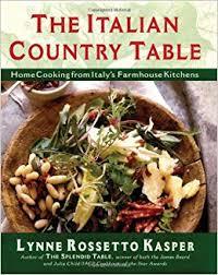 The Italian Country Table Lynne Rossetto Kasper 9780684813257