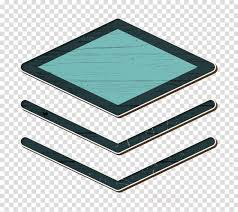 Base Icon Data Icon Document Icon Clipart Turquoise
