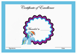 Small Picture My Little Pony Birthday Printable