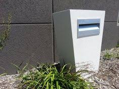 modern mailbox ideas. I Like This Contemporary Mailbox Design. Think Might It With Brick Or Strip Rubble Stone Instead Of The Concrete Blocks, But L\u2026 Modern Ideas R