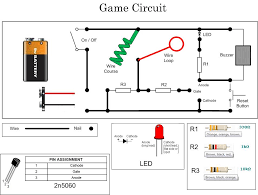 steady hand game circuit diagram the wiring diagram steady hand game circuit diagram wiring diagram circuit diagram