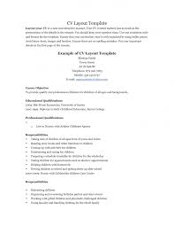 Resume For Teenager - Resume Templates