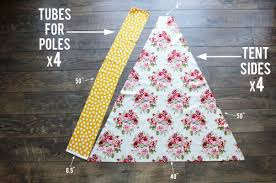 Teepee Pattern Custom Teepee DIY