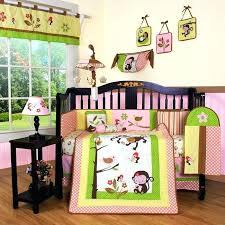 jungle crib bedding monkey set