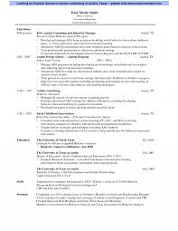 Templates Occupational Therapist Resume Sample Endearing Therapy