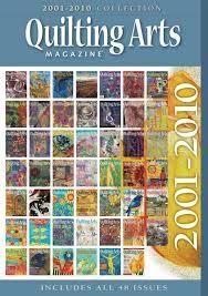 Quilting Arts Magazine 2001 - 2010 Decade Collection Cd &  Adamdwight.com