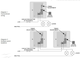 wiring diagram schematic of time delay switch timing adjustment wiring diagram schematic of time delay switch timing adjustment using single switch or multiple switch