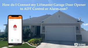 connect my liftmaster to adt control
