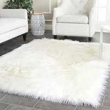 white area rug lovely white rug handmade faux sheep skin ivory acrylic rug x white area