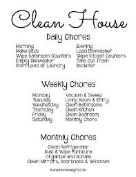 House Chore List Free Household Chore List Excel Olivier Jan Info