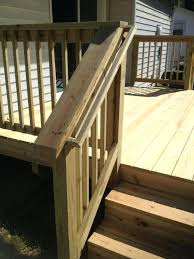 deck stair railing imposing marvelous exterior railings best ideas on outdoor step height