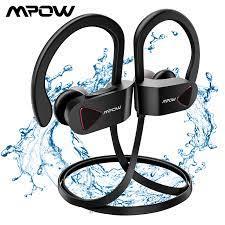 Mpow D8 Bluetooth 4.1 kablosuz kulaklık IPX7 yapısal su geçirmez spor  kulaklıkları spor kulaklık 9H çalma süresi spor salonu için|Bluetooth  Earphones & Headphones