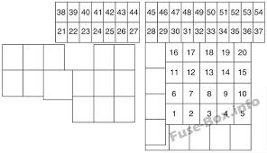 mazda cx 9 2016 2018 < fuse box diagram fuse box diagram engine compartment