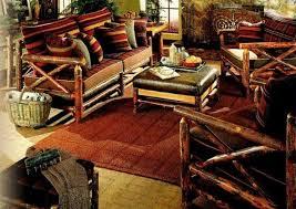 choosing rustic living room. Living Room With Wooden Rustic Furniture Choosing