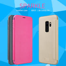 nillkin sparkle series new leather case for samsung galaxy s9 plus order from official nillkin