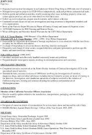 Crime Scene Investigator Resume Crime Investigator Resume Bunch