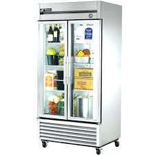 glass front refrigerator cu ft 1 swinging glass door refrigerator merchandiser used commercial glass front refrigerator