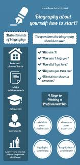 17 best ideas about biography biographies this infographic presentation presents on the topic how to write a biography about yourself to get the best information please here