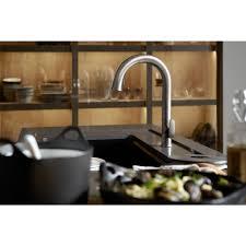 Kohler Barossa Kitchen Faucet Kohler Sensate Ac Powered Touchless Kitchen Faucet In Polished
