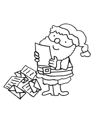 Disegni Da Colorare Giochi Natale Babbo Natale E Le Letterine