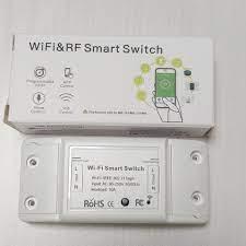 Công Tắc Điều Khiển Từ Xa Bằng Điện Thoại Wifi