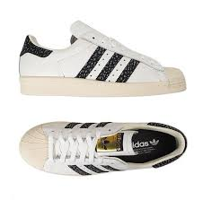 Adidas Tennis Shoes Size Chart Details About Adidas Original Superstar 80s S75847 Athletic Sneakers Shoes White