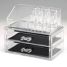 high quality bijou transpa acrylic makeup organizer drawer cosmetic case storage holder box organizador rangement maquillage