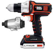 black and decker tools. black+decker 20-volt max lithium-ion cordless matrix drill/driver and black decker tools d