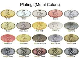 Plating Color