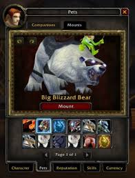 Wherever you are, whoever you are, your formal invitation to blizzconline awaits. Polar Bear Mount Is Live And Bind On Account Engadget