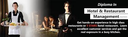 travex diploma in hotel restaurant management