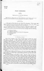 aftermath of the first world war the british library pages from three memoranda prepared by sir erle richards summarising british commitments in syria
