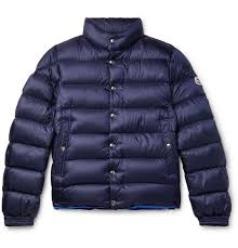 Moncler Mens Size Chart Piriac Slim Fit Quilted Shell Down Jacket