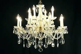 lead crystal chandelier parts designs vintage brass