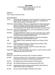 Resume interests examples sample resume ideas 4