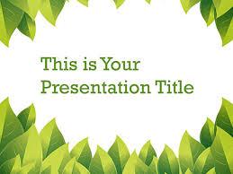 Google Slide Template Download Plant Google Slide Themes For Presentations Download Now
