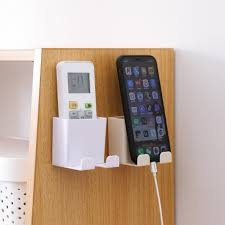 <b>1PCS</b> Wall Mounted <b>Charging Rack</b> Organizer Storage Box Remote ...