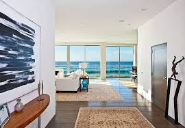 modern beach house interior with area rugs and wooden floor beach rugs home decor