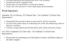 route sales resume discreetliasons com 1 route sales representative resume templates