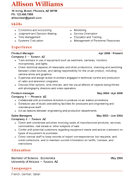 Gallery Of Functional Resumes Templates