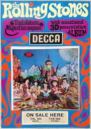 Image result for rolling stones their satanic majesties request