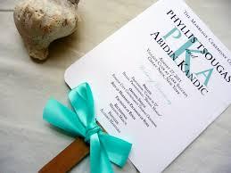 Printable Wedding Program Template Wedding Program Fans